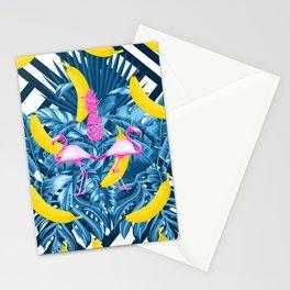 tropical banana fun  Stationery Cards