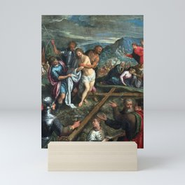 Preparation for the Crucifixion Mini Art Print
