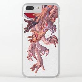 苦しみ - Anguish Clear iPhone Case