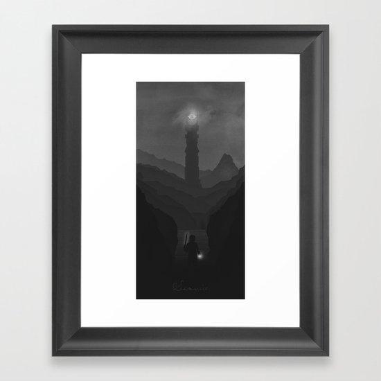 Samwise the Brave Framed Art Print
