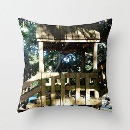 Tree house @ Aguadilla 3 Throw Pillow
