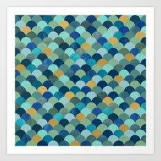 Ocean Pebbles Art Print