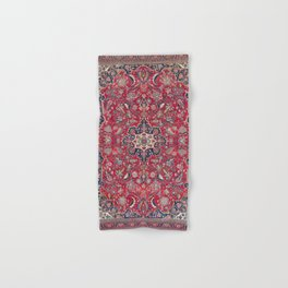 Bijar Kurdish Northwest Persian Rug Print Hand & Bath Towel