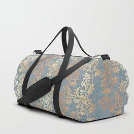 Gold Leaf Tangles Duffle Bag