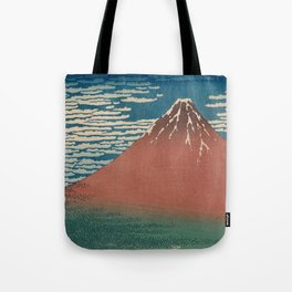 Fine Wind, Clear Weather also known as Red Fuji Tote Bag