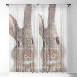 Baby Bunny  Sheer Curtain