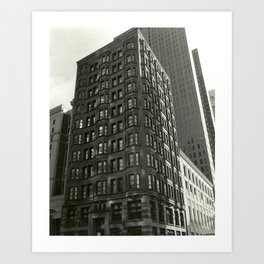 Building Texture Art Print