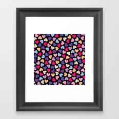Hearts #2 Framed Art Print