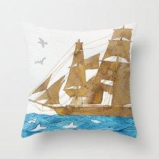 Accompanied - Acompañado - Accompagné Throw Pillow