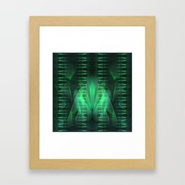Siphon Framed Art Print