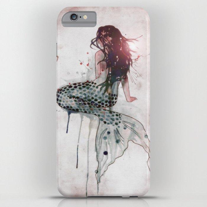 Mermaid II iPhone Case