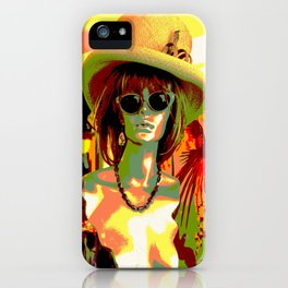 Vintage: Mad Hatter iPhone Case
