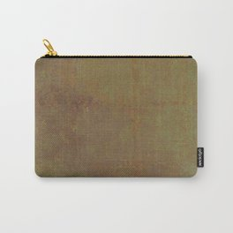 Abstract copper rusty crumpled paper Carry-All Pouch