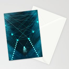 Mystic Space Stationery Cards