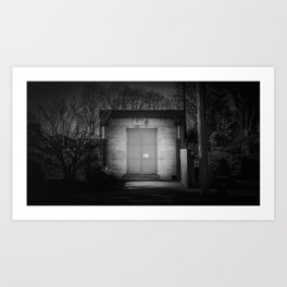 The Christchurch Electricity Substation Project XIV Art Print