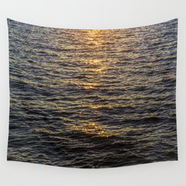 The sun goes down Wall Tapestry