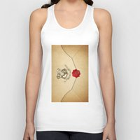 targaryen Tank Tops featuring HARRY POTTER ENVELOPE by Sophie