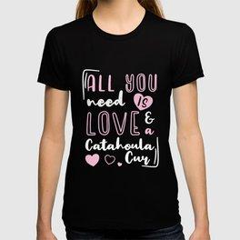 Louisana Catahoula Cur Leopard Dog Geschenk T-shirt