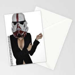 Office Trooper Stationery Cards