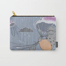Rainstorm-blue Carry-All Pouch
