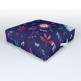 Floral Fantasy Outdoor Floor Cushion
