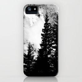 Alpine Classic (Black and White) iPhone Case