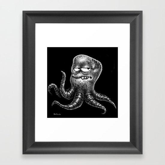 Monster sketch XI Framed Art Print