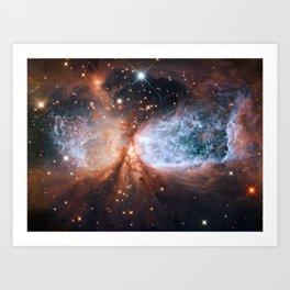 Star-forming region S106 Art Print