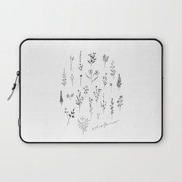 Wildflowers II Laptop Sleeve