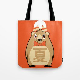 Natsu - Season bear Summer Tote Bag