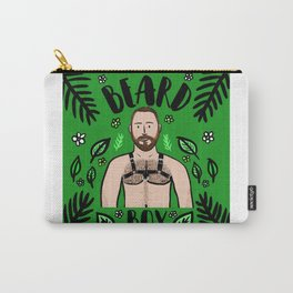 Beard Boy: Spring has sprung Carry-All Pouch