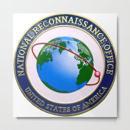 The Logo of the National Reconnaissance Office Metal Print