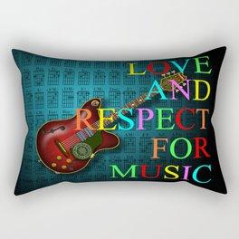 KuuMa Guitar Rectangular Pillow