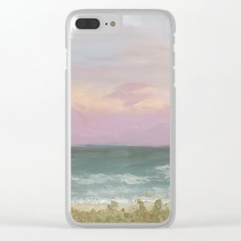 Evening at Cocoa Beach Clear iPhone Case