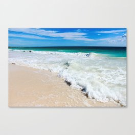 Tulum Waves Canvas Print