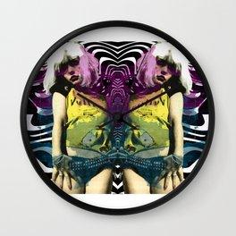 Vulture (Debbie Harry of Blondie) pop art Wall Clock