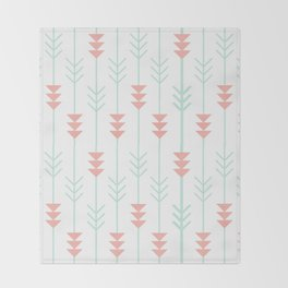 Arrows Pattern Throw Blanket