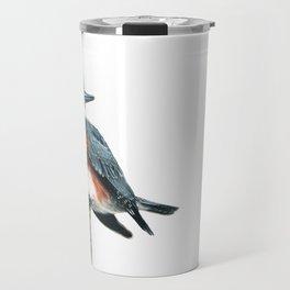 Belted Kingfisher Travel Mug
