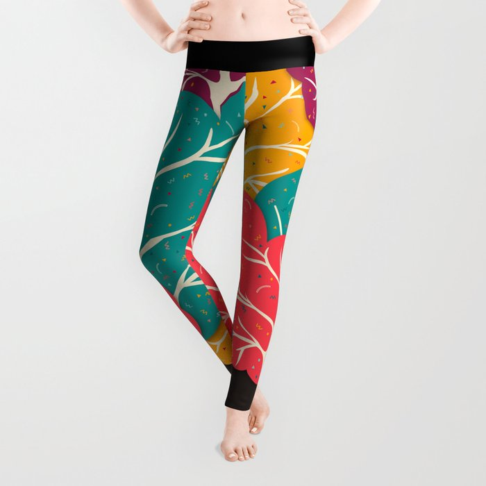 Happy Forest Leggings