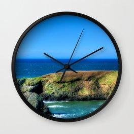 Images USA Yaquina Head HDR Nature Lighthouses Coa Wall Clock