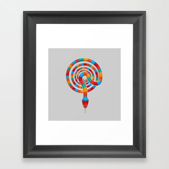 Vibrant Viper  Framed Art Print