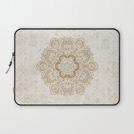Mandala Temptation in Cream Laptop Sleeve