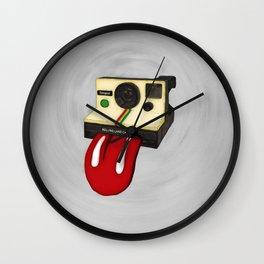 Rolling Land Camera Wall Clock