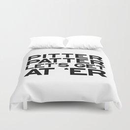 PITTER PATTER Duvet Cover