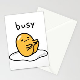 Gudetama Busy Stationery Cards