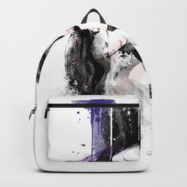 Shibari - Japanese BDSM Art Painting #11 Backpack