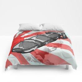 Atom Bomb Fat Boy Comforters