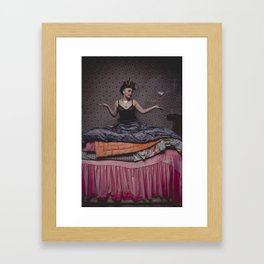 Le sourire d'Aïnou Framed Art Print