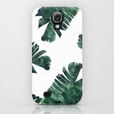 Banana Leaf Watercolor #society6 #buy #decor Galaxy S4 Slim Case