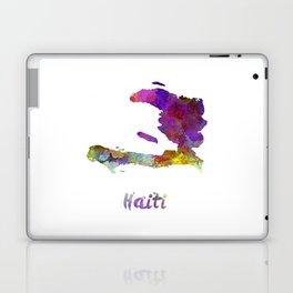 Haiti in watercolor Laptop & iPad Skin